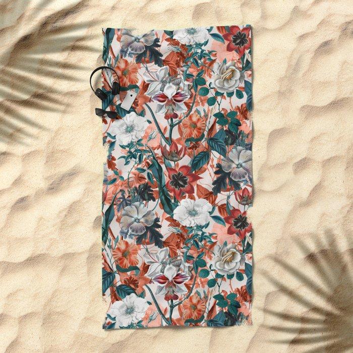 SUMMER GARDEN II Beach Towel