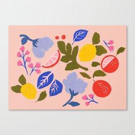 Arancia Rossa Canvas Print