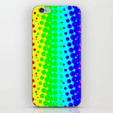 RAINBOW COLOR DOT iPhone & iPod Skin