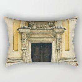 Yellow Walls, Winter Snow Rectangular Pillow