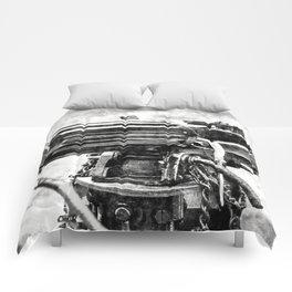 Vickers Machine Gun Vintage Comforters