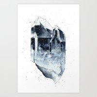 Crystal 1 Art Print