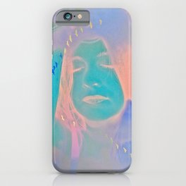 Kiss me just once again and I'll be on my way iPhone Case
