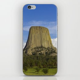 Devils Tower - The first National Monument iPhone Skin