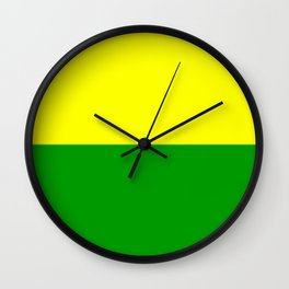 Flag of The Hague Wall Clock