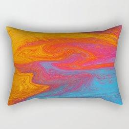 Marbled IX Rectangular Pillow