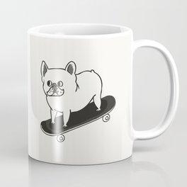 Skateboarding French Bulldog Coffee Mug
