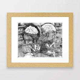 Quiet Framed Art Print
