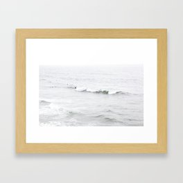 Surf, Ocean Beach, SF Framed Art Print