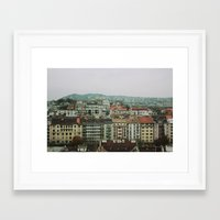 budapest Framed Art Prints featuring Budapest by Emma Murrell