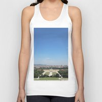 vienna Tank Tops featuring Vienna - Cityscape by Andrew Schmidt