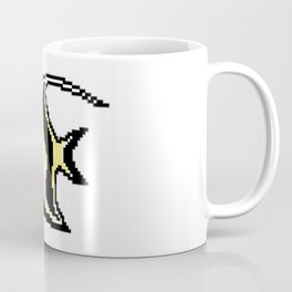 8-Bit Moorish Idol Pixel Art Tropical Fish Coffee Mug