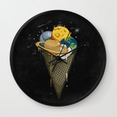Galactic Ice Cream Wall Clock