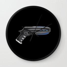 MIB Pistol Wall Clock