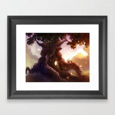 upper zanzibari Framed Art Print
