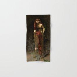 "John Collier ""Priestess of Delphi"" Hand & Bath Towel"