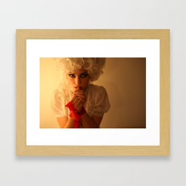 Off With Her Head (1) Framed Art Print