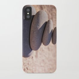 Balancing the world iPhone Case