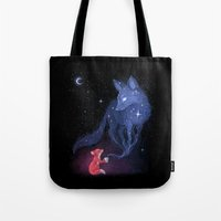 freeminds Tote Bags featuring Celestial by Freeminds