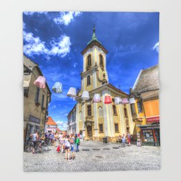 Szentendre Town Hungary Throw Blanket