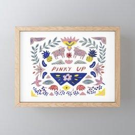 Pinky Up Framed Mini Art Print