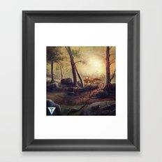 Trove EP w logo Framed Art Print