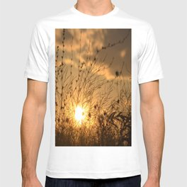 sunset on the lace field T-shirt