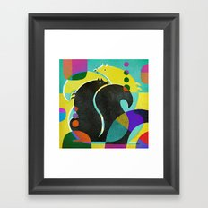 SQUIRRELS 2 Framed Art Print