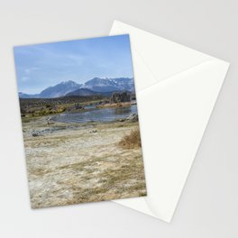 Mono Lake Tufa, No. 4 Stationery Cards
