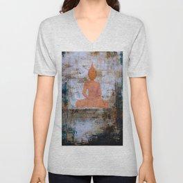 Buddha Mandala Unisex V-Neck