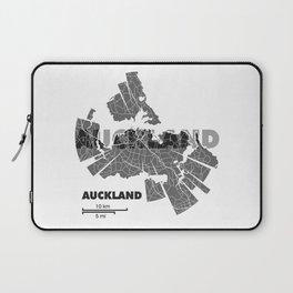 Auckland Map Laptop Sleeve