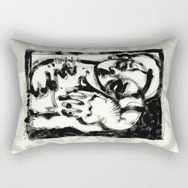 Lonesome Saint Rectangular Pillow