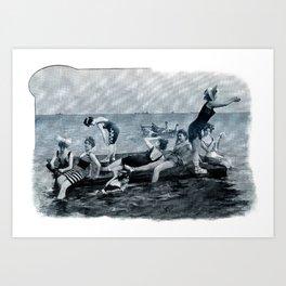 The Venus Raft  Art Print