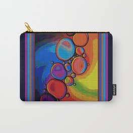 Rainbow Pebbled Pathway Carry-All Pouch