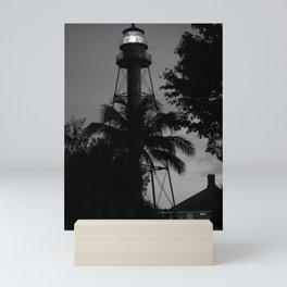 Lighthouse on Sanibel Island Mini Art Print