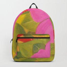 flowers in garden Backpack