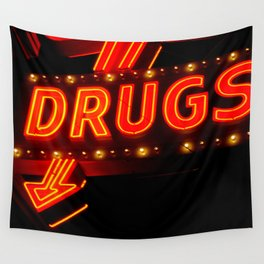 Drugs Wall Tapestry