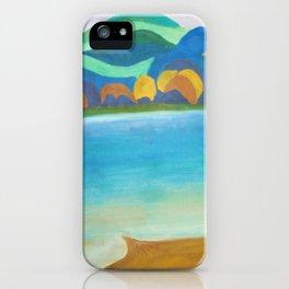 """Pühajärv (""""Holy lake"""") / Pühajärv iPhone Case"""