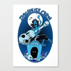 Doghouse Crew Canvas Print