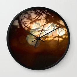 Invigorating Lights II Wall Clock