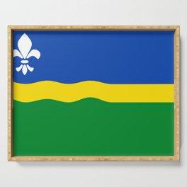Flag of Flevoland Serving Tray