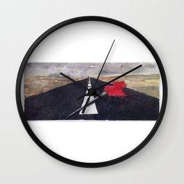 penna macchia Wall Clock