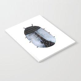 Sapphire Beetle Notebook
