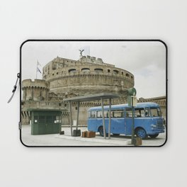 Castel Sant Angelo between past and present in color Laptop Sleeve