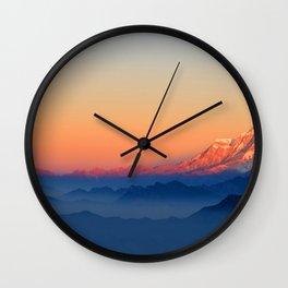 Presence of Sun Wall Clock