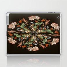 Flemish Floral Mandala 3 Laptop & iPad Skin