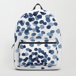 Explosion of Blue Confetti Backpack