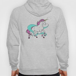 Magical Unicorn (White and Pink) Hoody