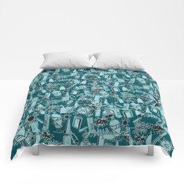 TEAL VANDAL CLASSICS Comforters