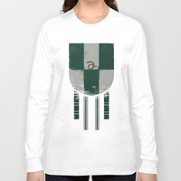 slytherin Long Sleeve T-shirts featuring slytherin crest by nisimalotse